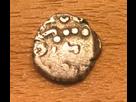 Drachme du Malwa imitant le monnayage Gupta, légende dégénérée Kamaragupta ... 1517349995-img-1085