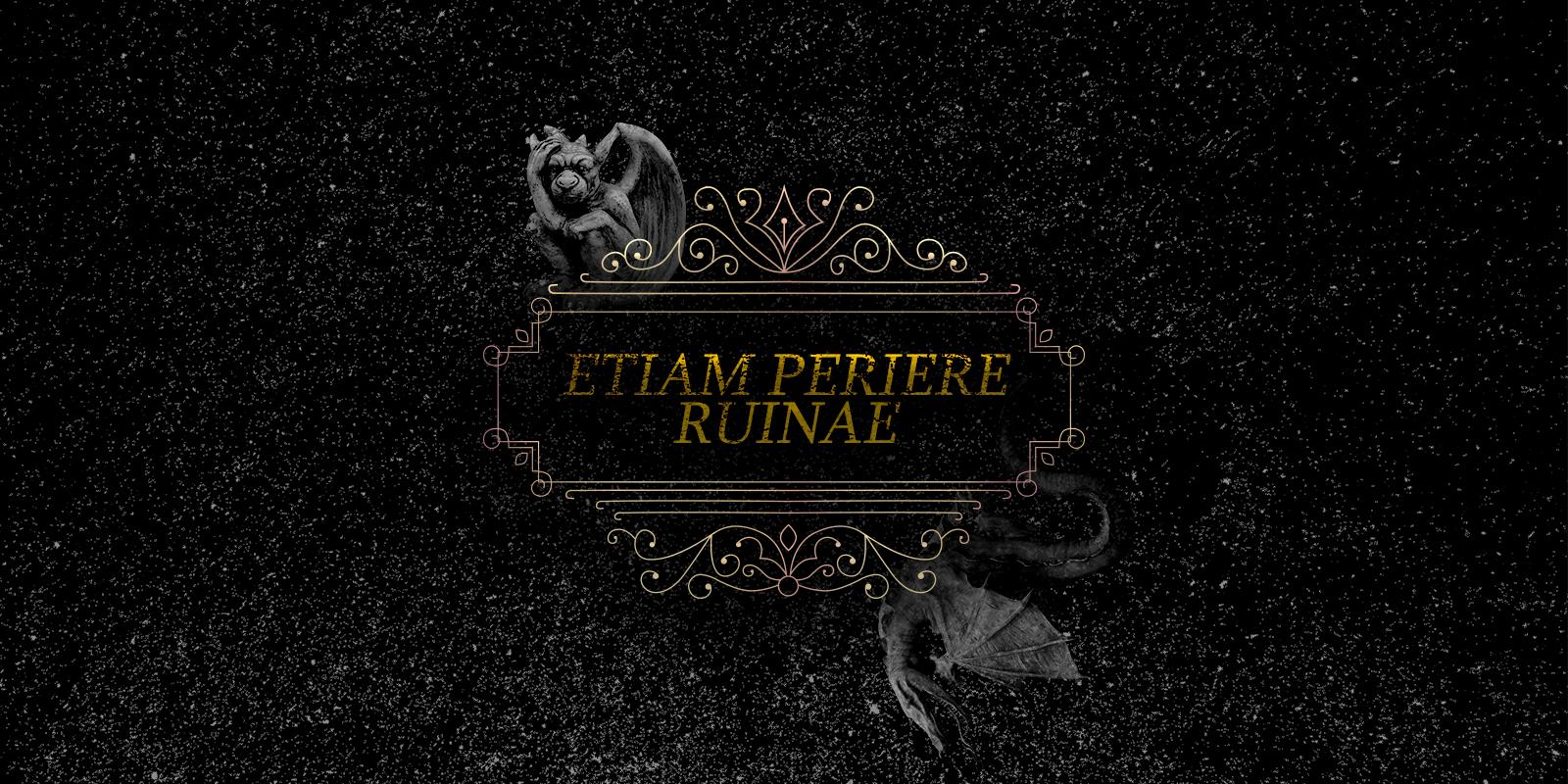 Etiam Periere Ruinae