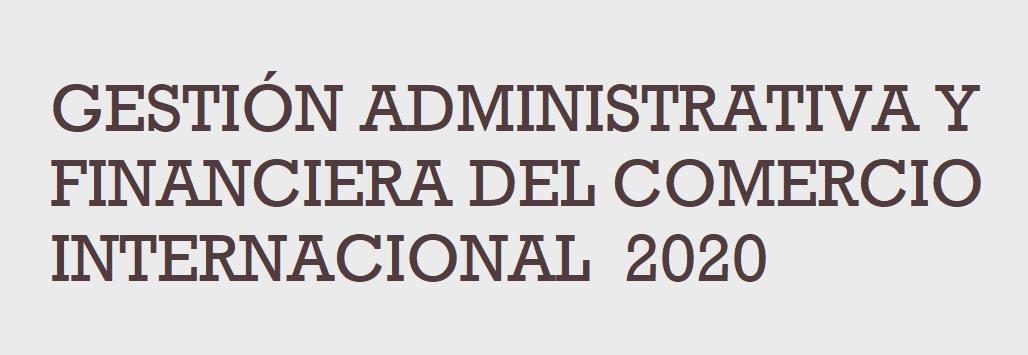 Gest Admin Financ Comercio Internacional