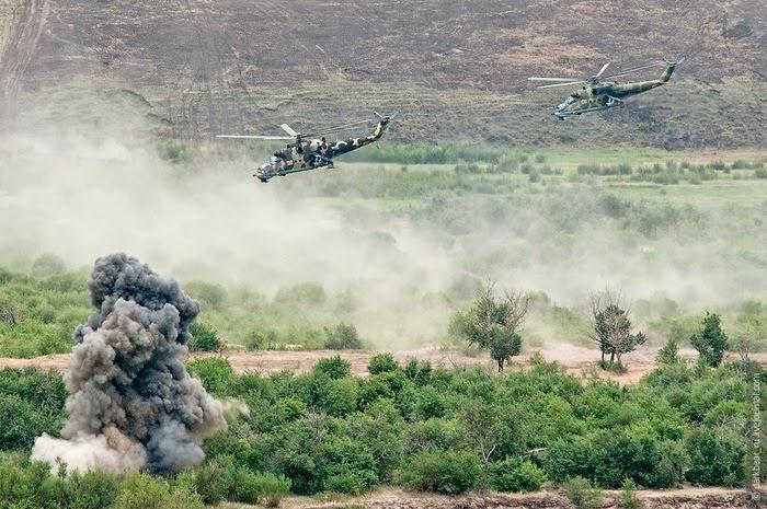 8º ANIVERSARIO DE LA GRANJA. 04-02-18. Russian_military_training_river_onon1