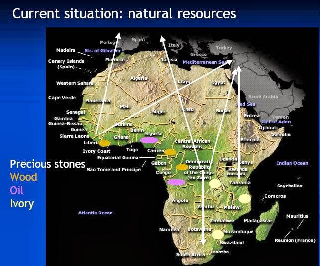 8º ANIVERSARIO DE LA GRANJA. 04-02-18. Africa_recursos_naturales