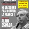 Ne laissons pas mourir la France !