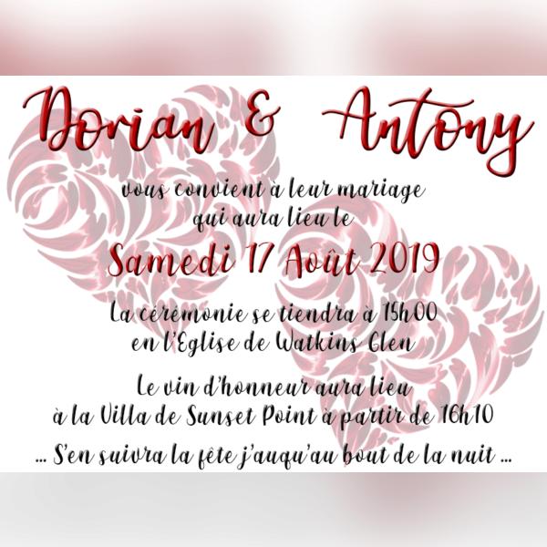 Mariage Dorian Storm & Antony Swift - img