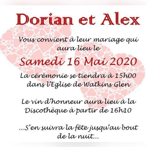Mariage Dorian Storm et Alex Poltich - img