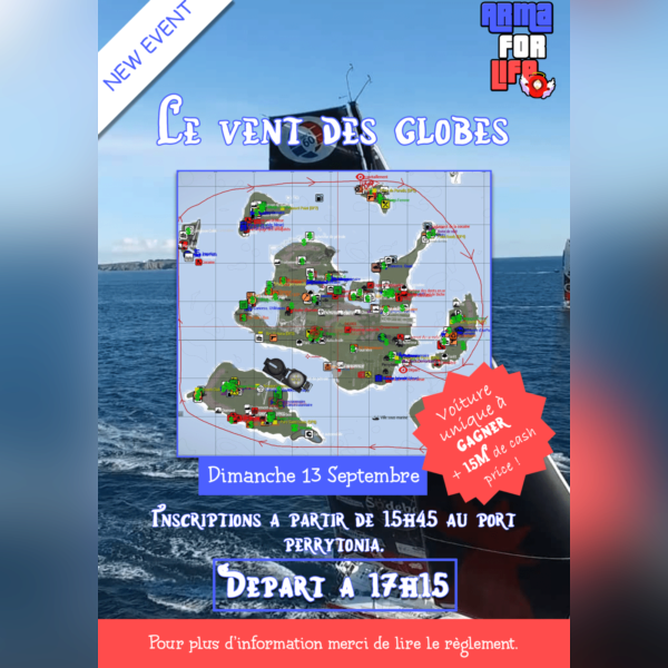 Le vent des Globes Arma For Life - img