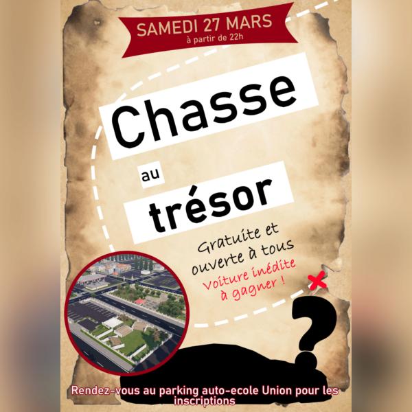 Chasse au trésor samedi 27 a 22h - img