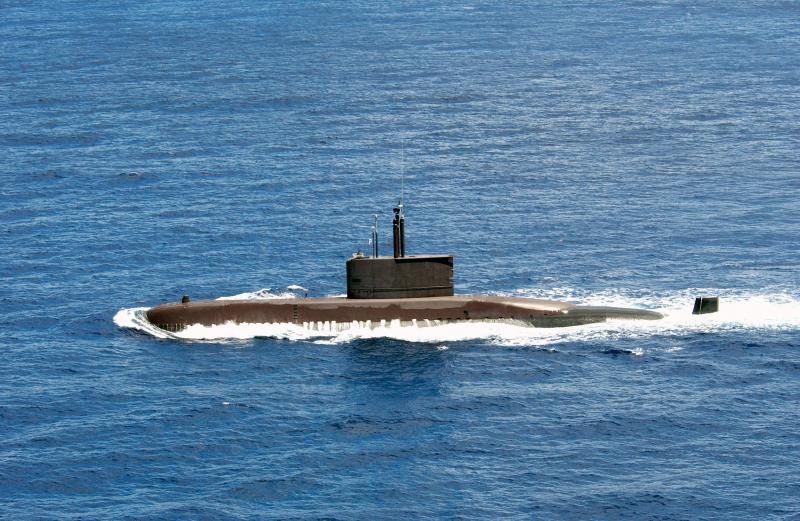 SOUS MARINS D'ATTAQUE TYPE 214 138297ChangBogo_SSK061_Typ209Uboat