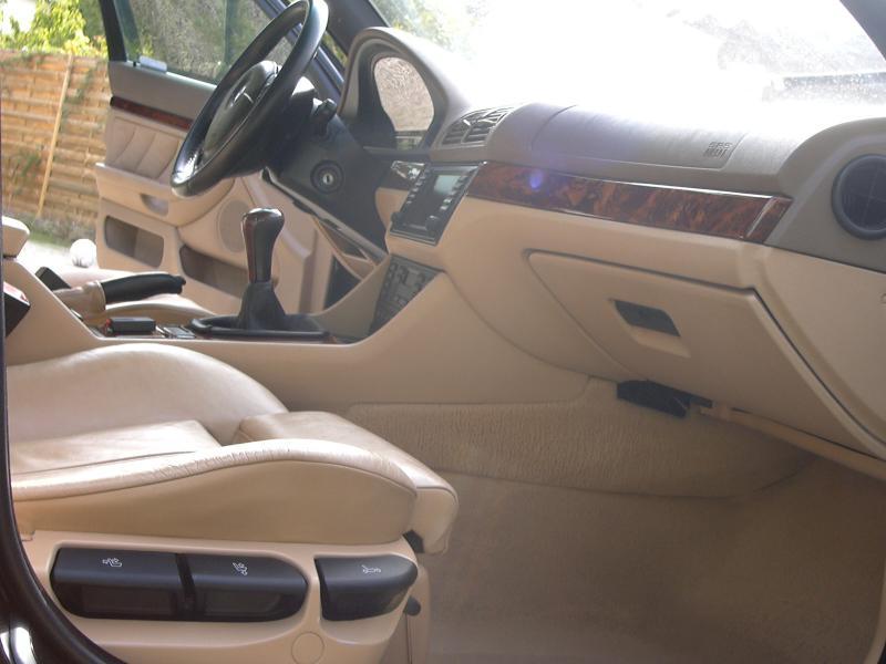 [BMW 530 d E39] Rénovation intérieure d'un Pack Sport M 144625P1000248
