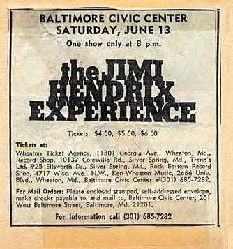 Baltimore (Civic Center) : 13 juin 1970 160013BaltimoreCivicprogramm19700613jpg