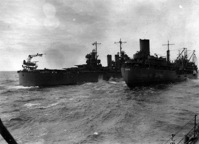 USN CROISEURS LEGERS CLASSE BROOKLYN 165229USS_Honolulu_et_USS_Sabine