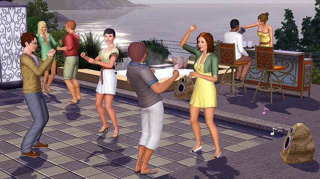 Les Sims™ 3 : Jardin de style Kit 1754052
