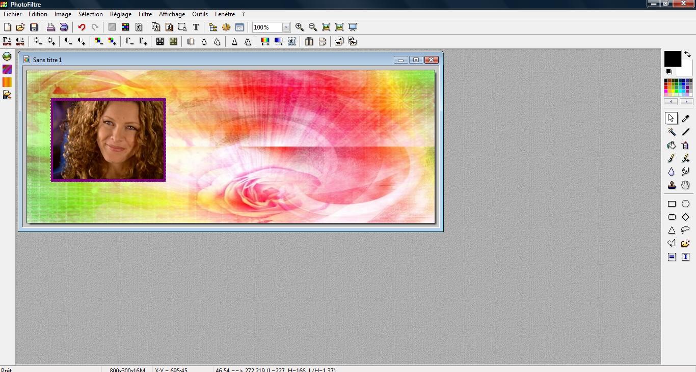 Comment faire pencher une image, avec Photofiltre.  1834483