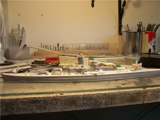 Dkm Scharnhorst 1938/39 airfix 1/600 - Page 3 184233Dkm_Scharnhorst_038