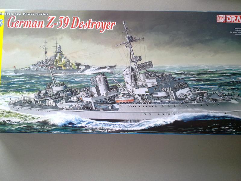 Destroyer Z-39 de Dragon au 1/350 199790060420111351
