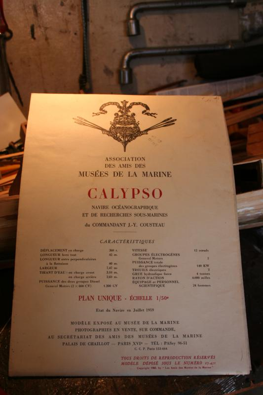Ma Calypso, bois sur plan AAMM au 1/50ème 2013IMG_0313