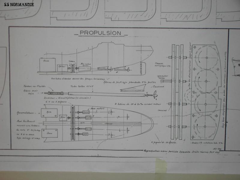 S.S Normandie  échelle 1/160 - Page 2 249208PROPULTION