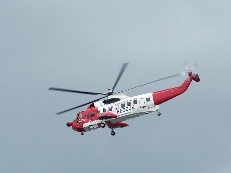SIKORSKY S-61 SEA KING 250825Irish_Coast_Guard_Helicopter