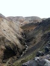 Le rocher abrupte