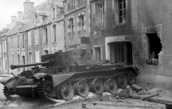 Cromwell détruit en Juin 1944 277543France_Villers_Bocage_Cromwell_Detruit_juin1944_1