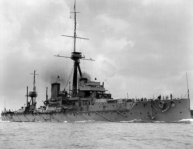 ROYAL NAVY CUIRASSES CLASSE IRON DUKE 279369HMS_Dreadnought