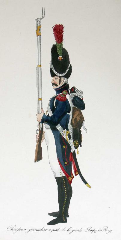 chasseurs à pied de la Garde 285416chasseur