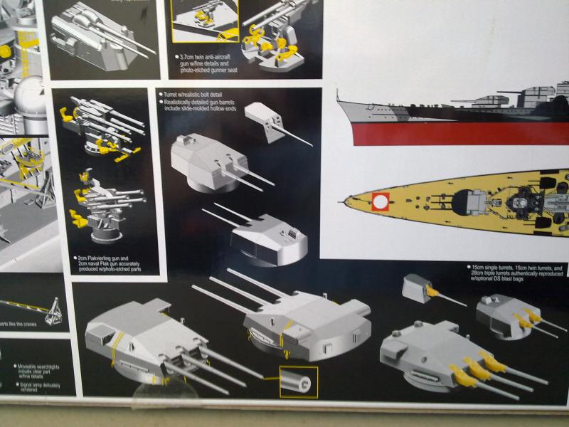 DKM Scharnhorst de  Dragon 1/350° 33152111102010820