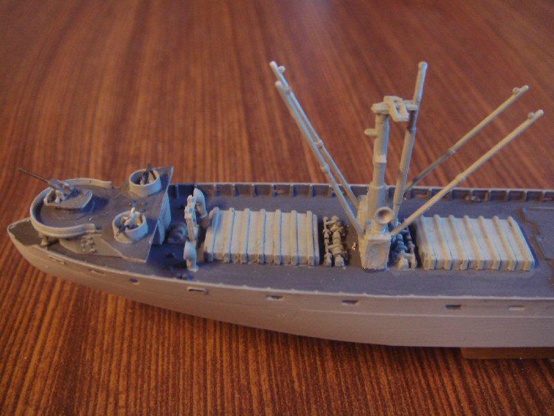 Le SS jeremiah o'brien liberty ship au 1/700 Trumpeter 334291libertyship13