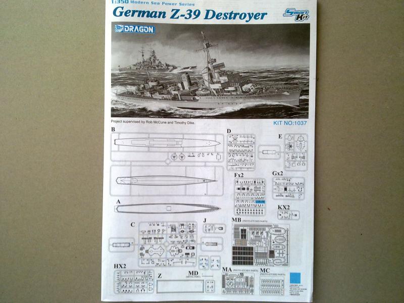 Destroyer Z-39 de Dragon au 1/350 338172060420111334