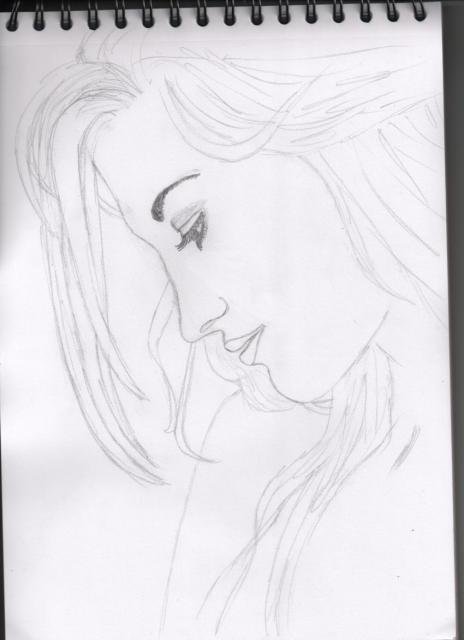 Pas à pas : Profil femme 346897Portrait_femme_de_profil