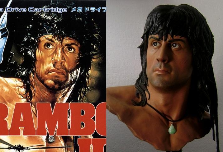 Rambo buste life size 34863210