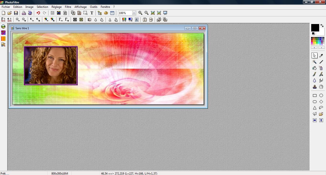 Comment faire pencher une image, avec Photofiltre.  3913265