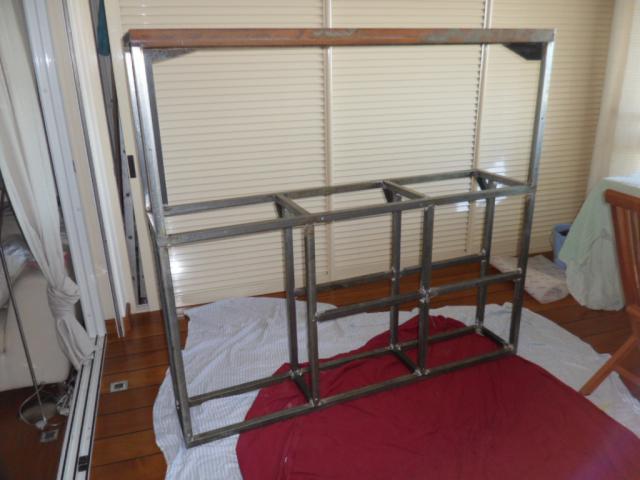 SUR MESURE: Démarrage bac encastré et son meuble. 393275SAM_0019