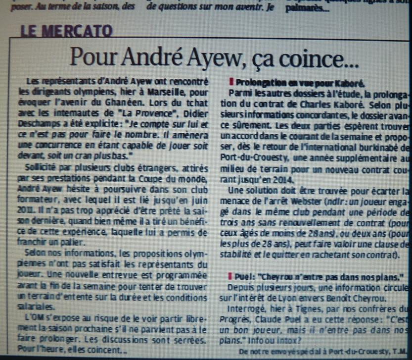 ANDRE AYEW 400015P1090776