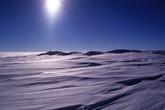 La plaine enneigée