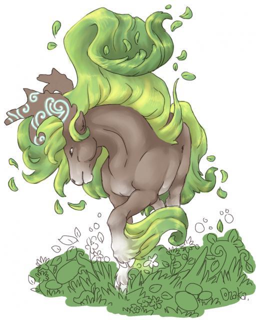 cheval nature le père 446805cheval_foret1