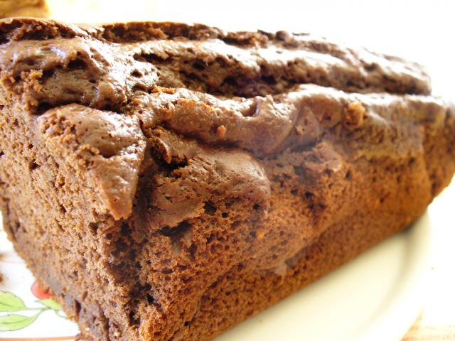 Cake au chocolat (sans matière grasse!!!!) 45429P1040151