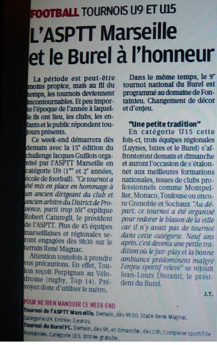 F .C .LE BUREL 497102P1080201