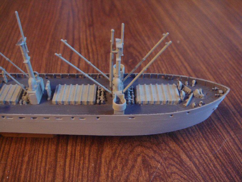 Le SS jeremiah o'brien liberty ship au 1/700 Trumpeter 498955libertyship12