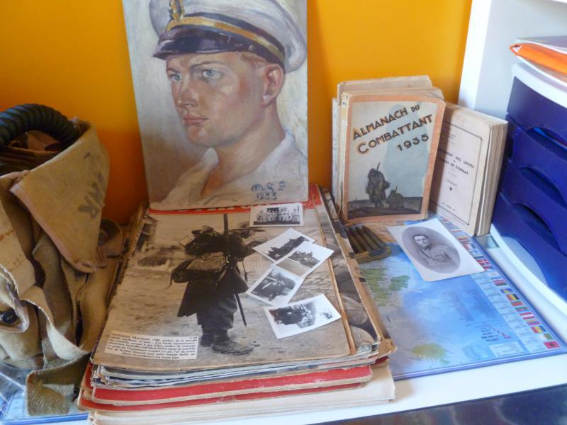 Officier Français à Monte Cassino 44 avec un pow luftwaffe - Page 2 558907P1010123