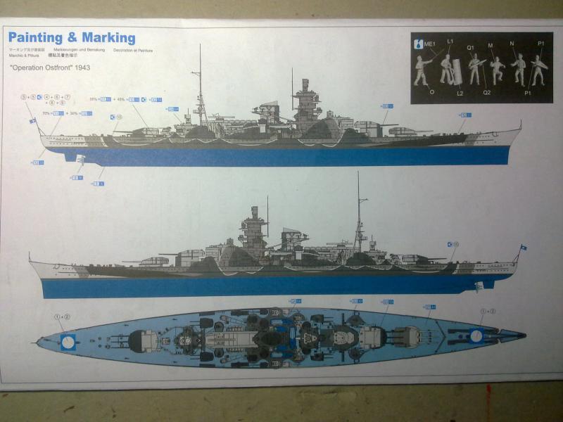 DKM Scharnhorst de  Dragon 1/350° 57959215102010833