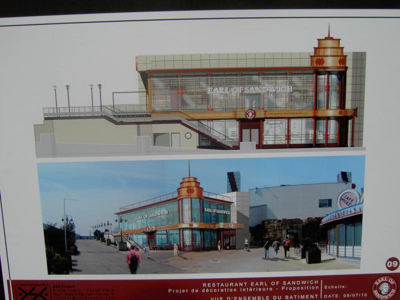 earl of sandwich - [Disney Village] Construction d'un restaurant Earl of Sandwich - Page 8 636373PICT3728