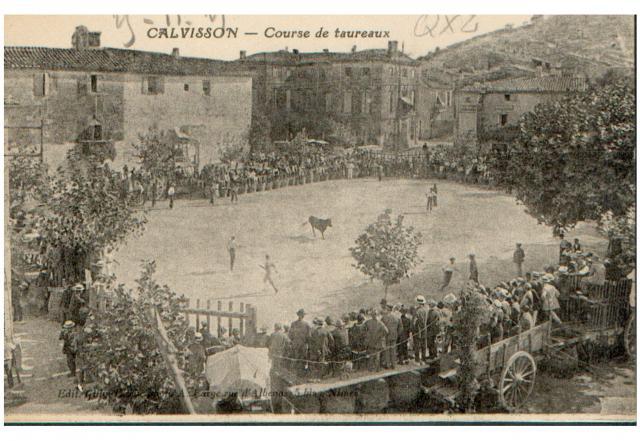 CALVISSON course dans les années 1900 664368CARTE12