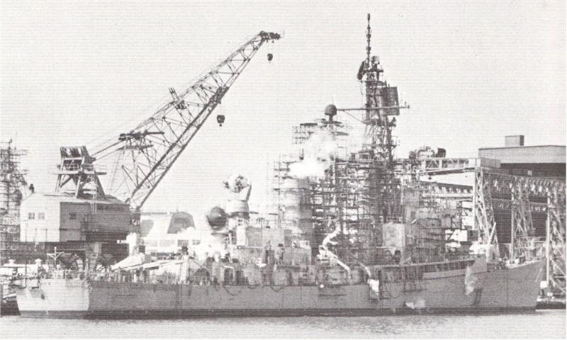 DESTROYERS LANCE-MISSILES CLASSE FARRAGUT 676216USS_Luce_modernisation_1970