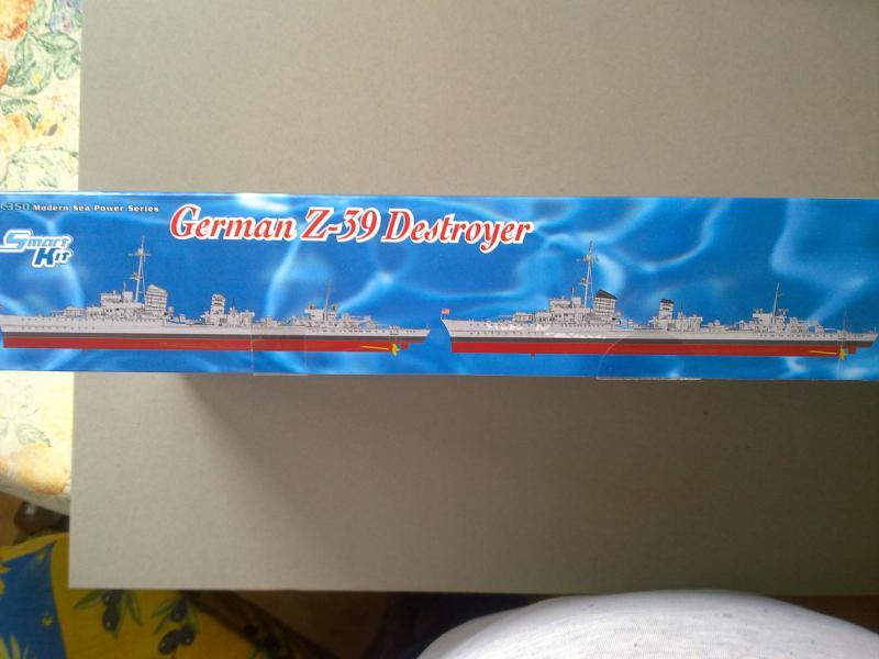 Destroyer Z-39 de Dragon au 1/350 704203060420111350