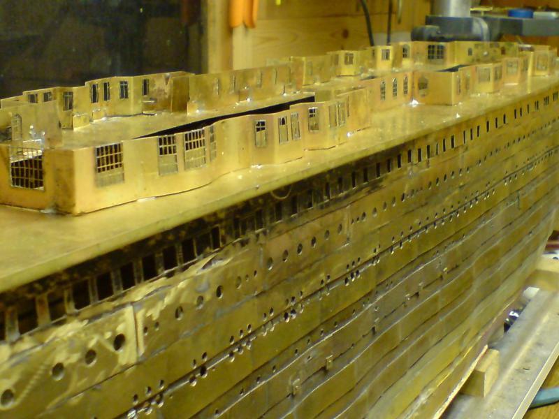 Titanic 1/144 tout en brass 7171497301