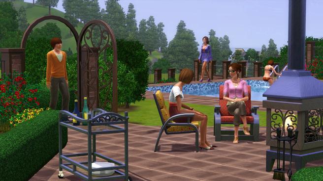Les Sims™ 3 : Jardin de style Kit 7564691