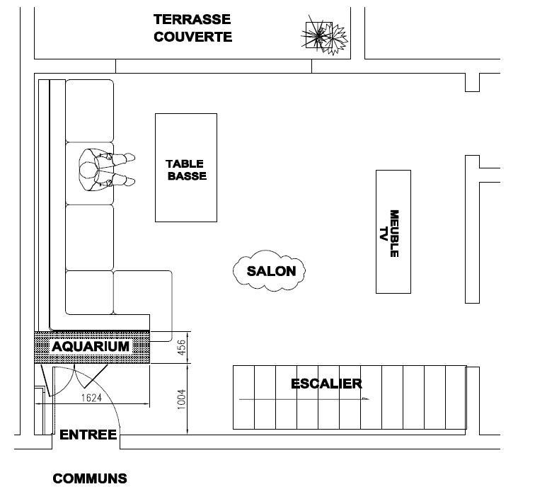 SUR MESURE: Démarrage bac encastré et son meuble. 763672VUE_EN_PLAN