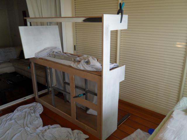 SUR MESURE: Démarrage bac encastré et son meuble. 786460PRESENTATION