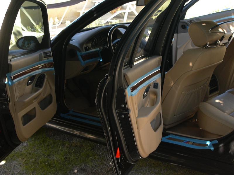 [BMW 530 d E39] Rénovation intérieure d'un Pack Sport M 810619P1000063