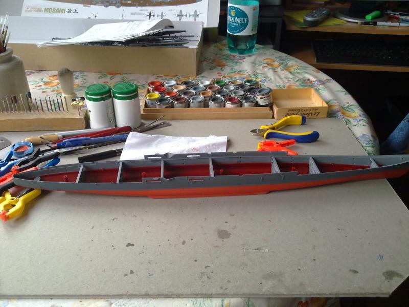 croiseur lourd Mogami au 1/350 par Pascal 94 - Tamiya  82581827092010788